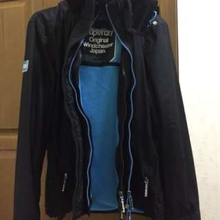 Superdry 極度乾燥 三層拉鍊外套