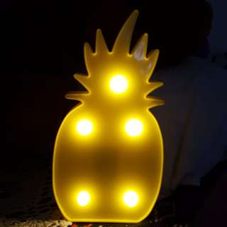 LED LIGHT / LAMPU TUMBLR PINEAPPLE NANAS