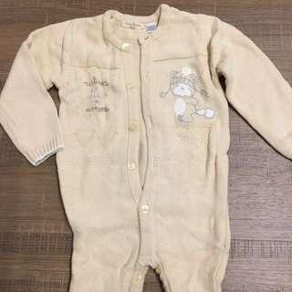 奇哥 Chico 嬰兒針織連身衣 (1歲)全新未穿過 一件80三件200