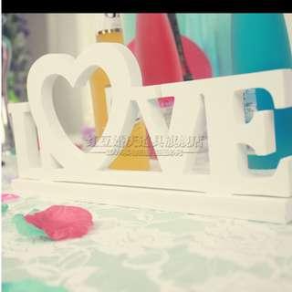 LOVE Signage (Wedding)