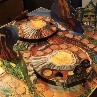 Retro Vintage 1983 Masters of the Universe, Pop-Up Game (Board only)