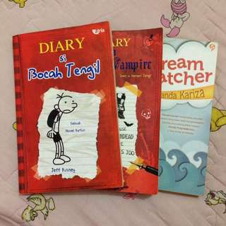 Diary of Wimpy Kids (Diary si Bocah Tengil), Diary of Wimpy Vampire & Dream Catcher