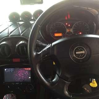 Genuine momo subaru 4 spoke with airbag