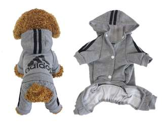 Adidog Pet for Dog Cat Puppy Hoodies Coat Winter Warm Sweater