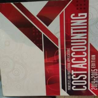 Cost Accounting by Guerrero