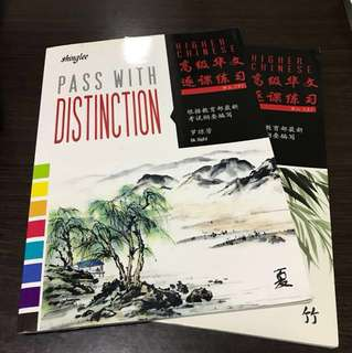 Brand New Higher Chinese Secondary 2 Pass with Distinction 2A 2B