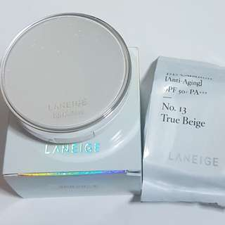 Laneige BB Cushion (Anti-aging) No.13 True Beige