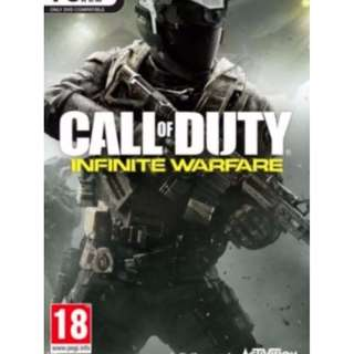 (SGD 49.90 ON STEAM) SEALED NEW PC Call of Duty Infinite Warfare
