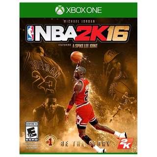 Xbox one NBA 2K16 MJ edition