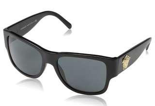 Versace VE 4275,Geometric acetate men sun glasses