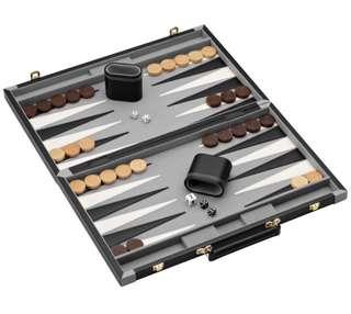 Mainstreet Classics Pennsylvania Ave Backgammon Board Game Set