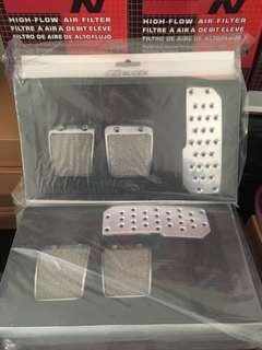 MUGEN pedal set MT brand new