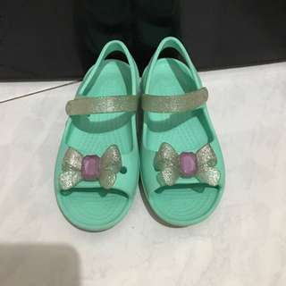 Crocs Sandals,Crocs kids shoes for girls in Turquoise colour