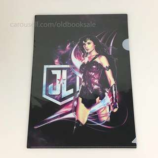 BNIP Wonder Woman Justice League File A4 Side & Top Opening