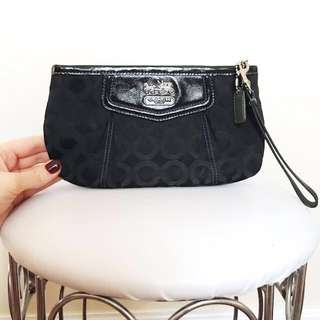 AUTHENTIC Coach CC Clutch/Wristlet