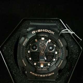 """卡西歐品牌膠帶手錶""""Casio"""" """"G-Shock""""日本機芯一年保養"""