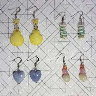 Bunch of Earrings Set H