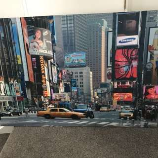 New York canvases, $10 each both for $15