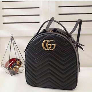 Restocked !GUCCI GG Marmont backpack💕