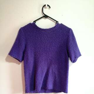 Asos Purple formal top uk8