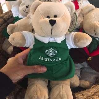 澳洲 星巴克 Starbucks 小熊