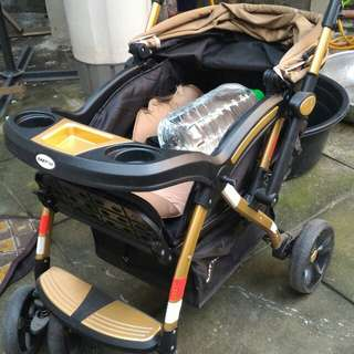Baby 1st stroller and safety 1st carrier