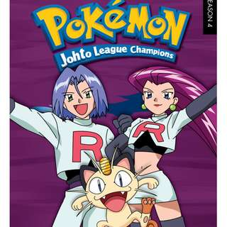 6 DVDS : POKEMON JOHTO CHAMPIONSHIP LEAGUE