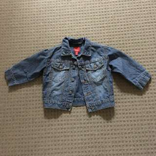 Reduced New Esprit Baby Denim Jacket