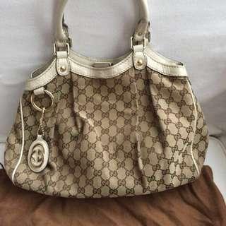Gucci canvass bag