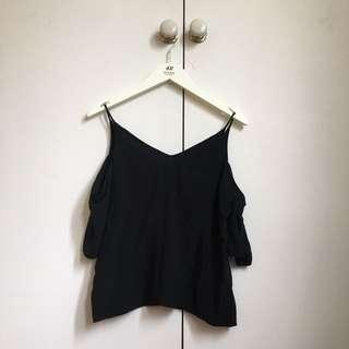 H&M Black Off Shoulder Top 6