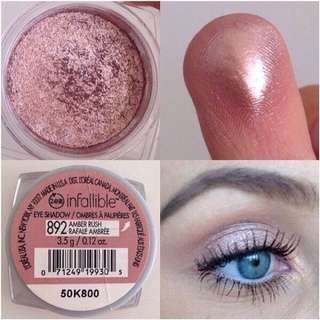 L'Oreal Infallible Eyeshadow - Amber Rush