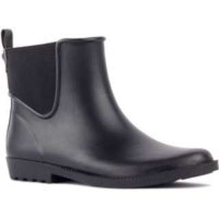 London Fog Black Lisa Ankle Rain Boots - Size 7
