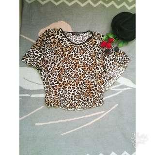Leopard Top (Small-medium)