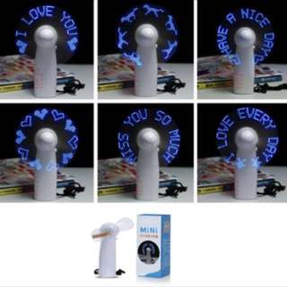 Personalised LED Fan