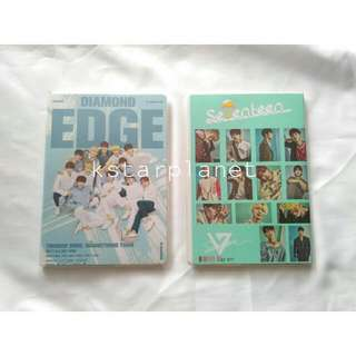 Seventeen Diamond edge Notebook