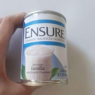 Ensure vanilla milk