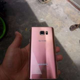 Samsung Galaxy Note 5 pink limited edition