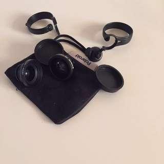 Polaroid iPhone Macro And Fish Eye Lens