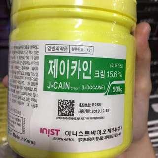 J-CAIN NUMB CREAM