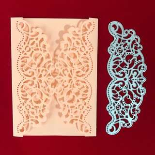 Lace Border scrapbooking Cutting dies