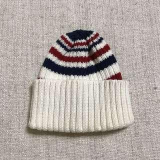 韓國製條紋毛帽購入於groovy store