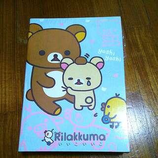 Rilakkuma exercise books / note books