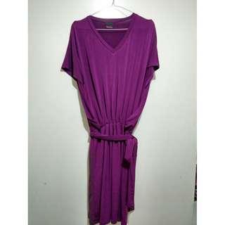 Purple Belt Dress