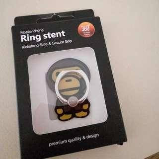 A Bathing Ape BAPE MILO Ring Stent/Hook for Phones