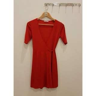 Zara dress red