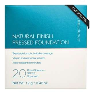 Pressed foundation rrp $80