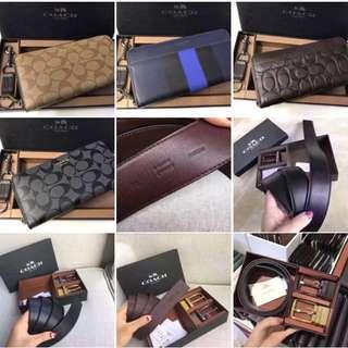 Authentic Coach Bag,wallet,Belt,Sling bag