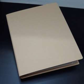 MUJI 无印良品 Book Binder File with Index Cards and Loose  Paper