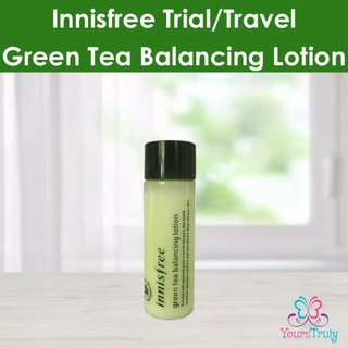 innisfree Green Tea Balancing Lotion Trial/Travel Size 25ml