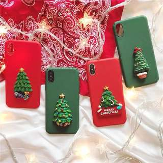 Iphone X Covers casing  Christmas design